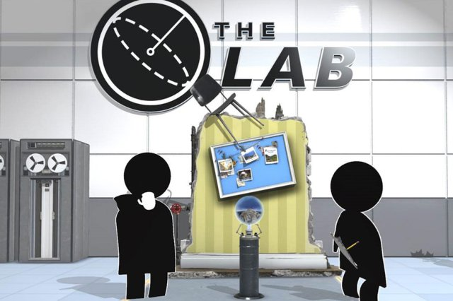 The Lab juego de realidad virtual