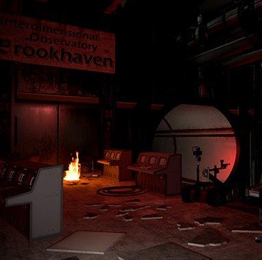 Escenario observatorio The Brookhaven Experiment