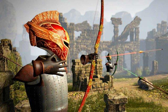 Juego de arqueros elfos Elven Assassin en realidad virtual