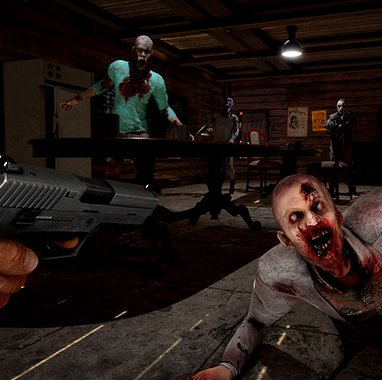 Shooter para luchar contra hordas de zombies en Arizona Sunshine