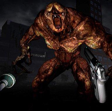 Zombie monstruoso en The Brookhaven Experiment