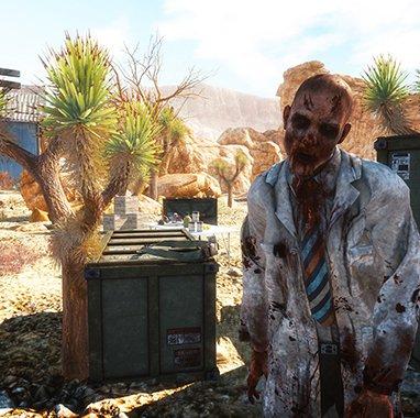 Zombies en el Gran Cañón del Colorado, en Arizona