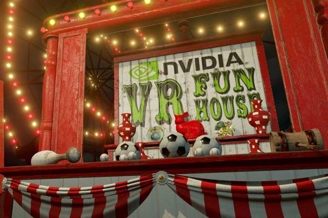 Juego NVIDIA VR Fun House
