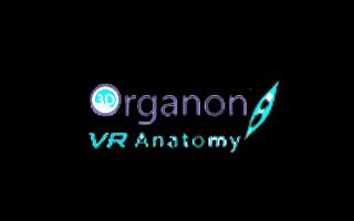Logo de la experiencia de realidad virtual 3D Organon