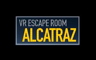 Logo de la experiencia de realidad virtual Alcatraz.