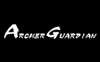 Logotipo Archer Guardian de realidad virtual