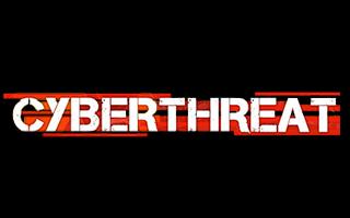 Logotipo CyberThreat de realidad virtual