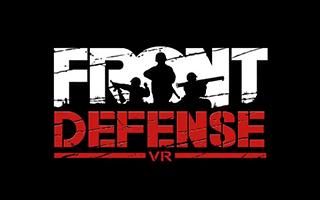 Logotipo de Front Defense Heroes de realidad virtual