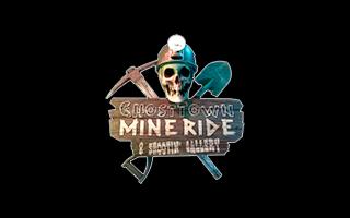Logotipo del juego de realidad virtual Ghost Town Mine Ride