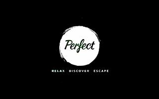 Logotipo de la experiencia relajante Perfect VR