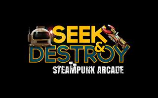 Logotipo del juego Seek and Destroy