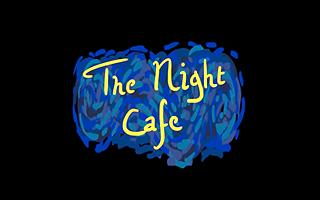 Logotipo de la experiencia de vr The Night Cafe