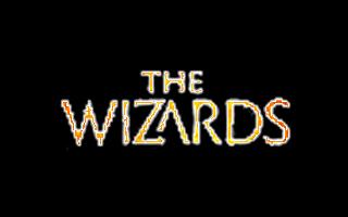 Logotipo de The Wizards de realidad virtual