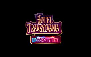 Logotipo del juego de coordinación musical Hotel Transylvania. Juego de tipo aventura para todos los públicos