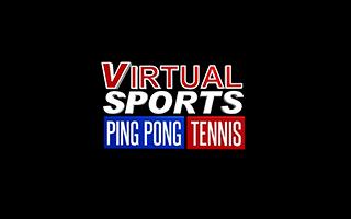 Logotipo del juego VR de ping pong Virtual Sports