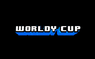 Logotipo del juego de fútbol en realidad virtual Worldy Cup