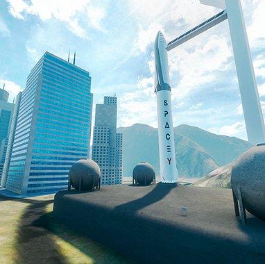 Rascacielos en realidad virtual en Richie`ss Plank Experience