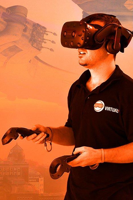Realidad virtual con HTC VIVE Pro en Villanueva del Pardillo, en Madrid